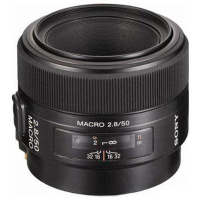 Sony A Mount 50mm f2.8 D Macro Lens