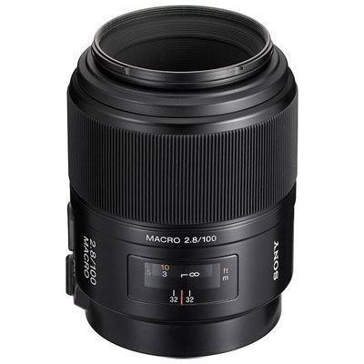 Sony A Mount 100mm f2.8 D Macro Lens