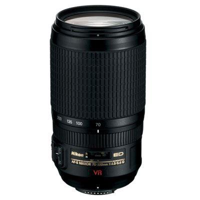 Nikon 70-300mm f4.5-5.6 G AF-S VR IF-ED Lens