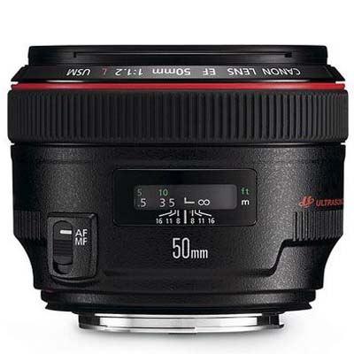 Used Canon EF 50mm f1.2L USM Lens