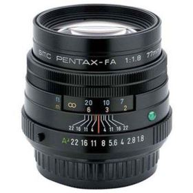 Pentax 77mm f1.8 SMC FA Limited Lens