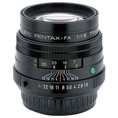 Pentax 77mm f1.8 SMC FA Limited Lens