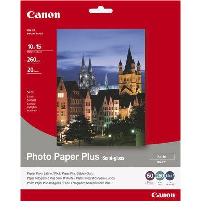 Canon SG201 SemiGloss Paper 6x4 50 sheets