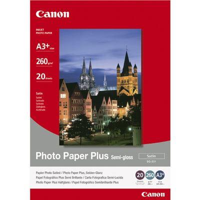 Canon SG201 SemiGloss Paper A3+ 20 sheets