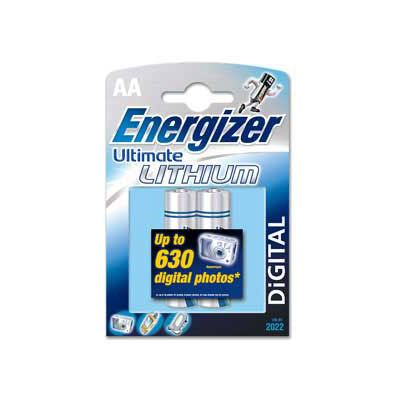 Energizer Ultimate Lithium AA 2 Pack