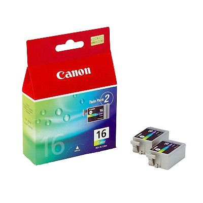 Image of Canon BCI16 Colour Ink Cartridge