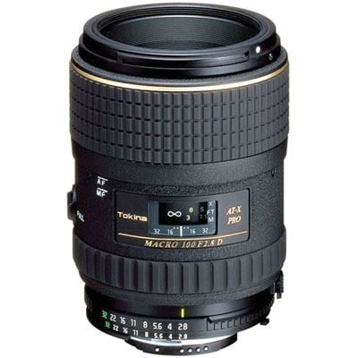 Tokina 100mm f2.8 AT-X Macro Lens - Nikon Fit