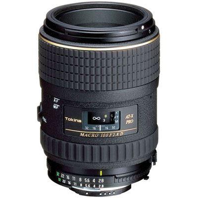Tokina 100mm f2.8 AT-X Macro Lens - Canon Fit