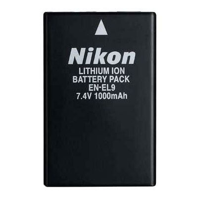 Nikon ENEL9 Rechargeable Lithiumion Battery