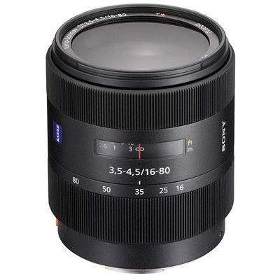 Sony A Mount 16-80mm f3.5-4.5 ZA VS T* DT Lens