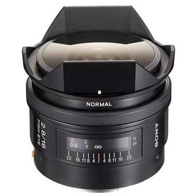 Sony 16mm f2.8 Fisheye Lens