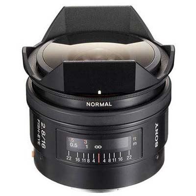 Sony A Mount 16mm f2.8 Fisheye Lens
