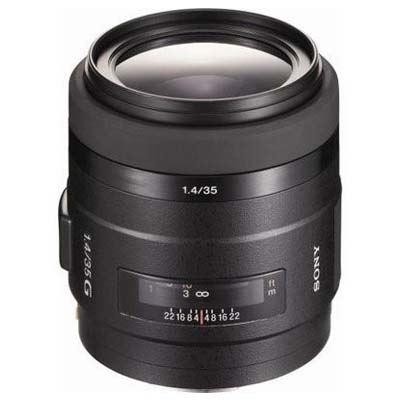 Sony A Mount 35mm f1.4 G Lens