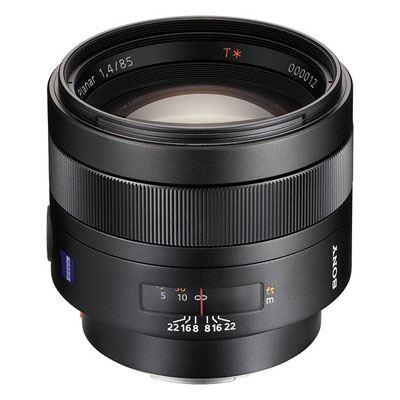 Sony A Mount 85mm f1.4 ZA Planar T* Lens