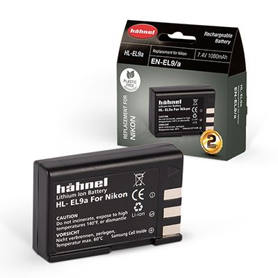Hahnel HLEL9a Battery (Nikon ENEL9a)