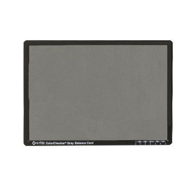 X-Rite Mini Grey Scale Balance Chart