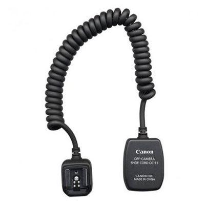 Image of Canon OC-E3 Flash Off-Camera Shoe Cord