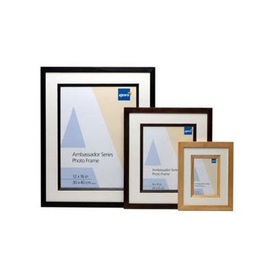 Kenro Ambassador Frame 20x16 Inch 40x50cm Black Pack Of 6 Wex