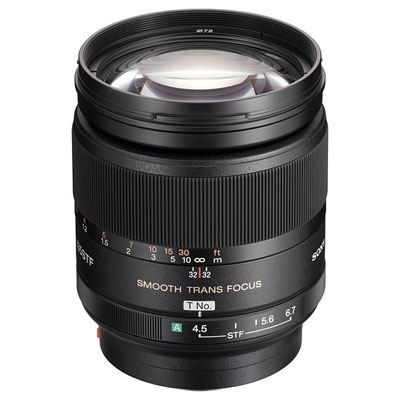 Sony A Mount 135mm f2.8 STF Lens
