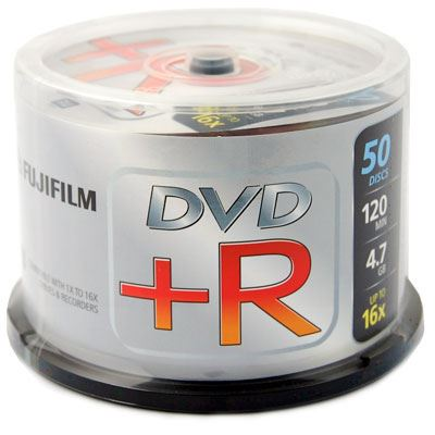 Image of Fujifilm DVD+R 4.7GB - 16x Speed - 50 Discs