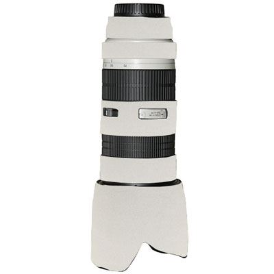 LensCoat for Canon 70200mm f2.8 L non IS  Canon White