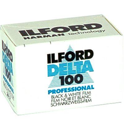Image of Ilford Delta 100 Pro 35mm film (36 exposure)