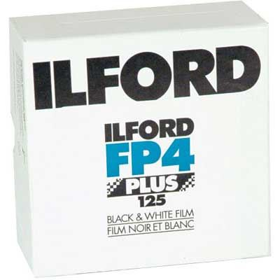 Ilford FP4 Plus 35mm film (24 exposure) Pack of 50