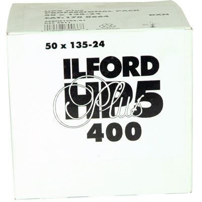 Ilford HP5 Plus 35mm film (24 exposure) Pack of 50