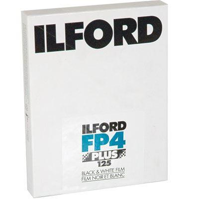 Ilford FP4 Plus 5x4 inch sheet Film (25 sheets)