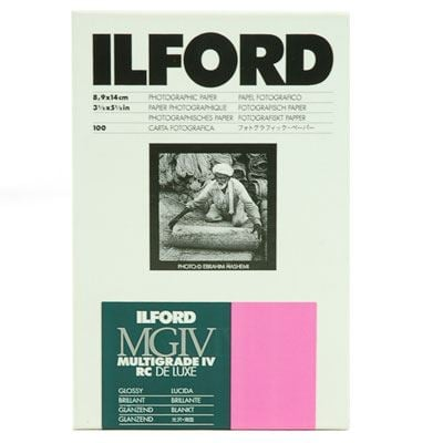 Ilford Multigrade IV RC Deluxe Wet Paper - 100 sheets