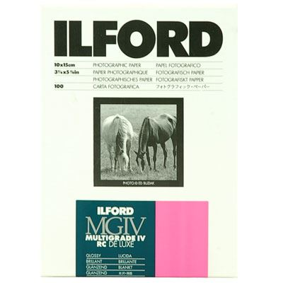 Image of Ilford MG4RC1M 10x15cm 100 sheets 1769771