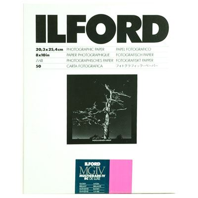Ilford MG4RC1M 20.3x25.4cm 50 sheets 1770339