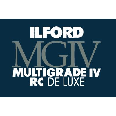 Used Ilford Multigrade IV RC Deluxe Glossy 30.5 x 40.6cm x 10 sheets
