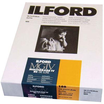Ilford MG4RC25M 7x5 inch 100 sheets 1771912