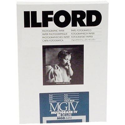 Ilford MG4RC44M 7x5 inch 250 sheets 1771055