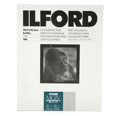 Ilford MG4RC44M  20.3x25.4cm 100 sheets