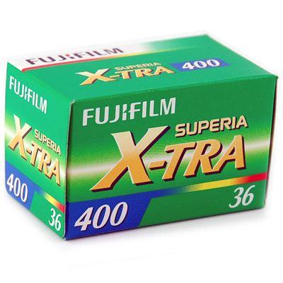 Fujifilm Superia 400 X-Tra (36 exposure)