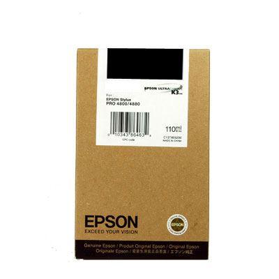 Epson T6051 Photo Black 110ml Ultra Chrome K3 Ink Cartridge