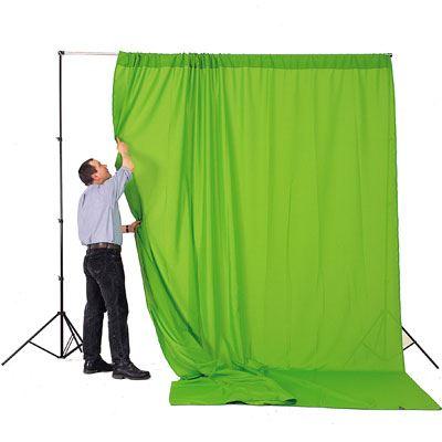 Lastolite Chromakey Curtain 3 x 3.5m - Green