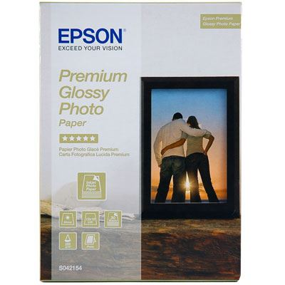 Epson Premium Glossy Photo Paper 255gsm 5x7 30 sheets