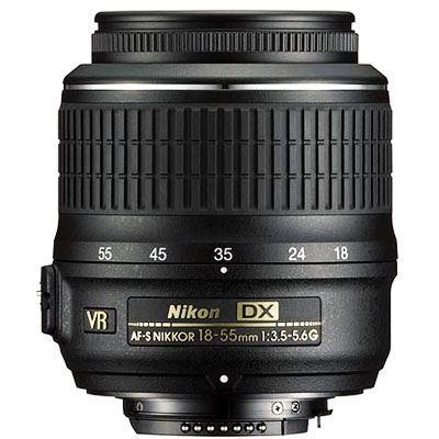 Nikon 18-55mm f3.5-5.6 G AF-S DX VR Lens
