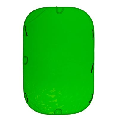 Image of Lastolite Collapsible Background 1.8 x 2.75m - Chromakey Green