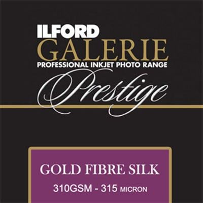 Ilford Galerie Prestige Gold Fibre Silk A3+ 50 sheets 310gsm