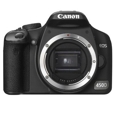 Canon EOS 450D Digital SLR Camera Body