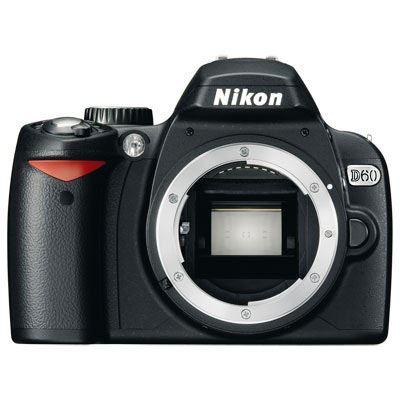 Nikon D60 Digital SLR Camera Body
