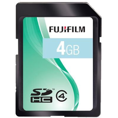 Fuji 4GB SDHC Card 33x Speed Class 4