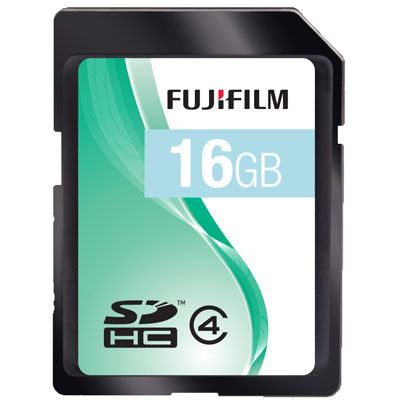 Fuji 16GB SDHC Card 33x Speed Class 4