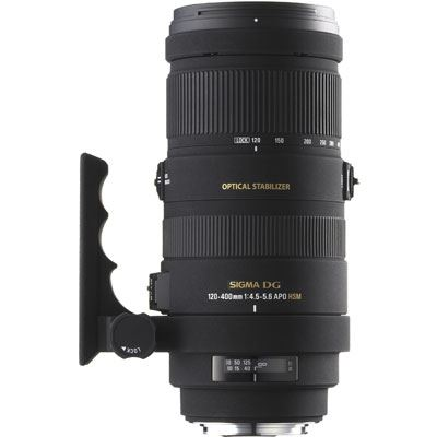 Sigma 120-400mm f4.5-5.6 DG OS HSM Lens - Canon Fit