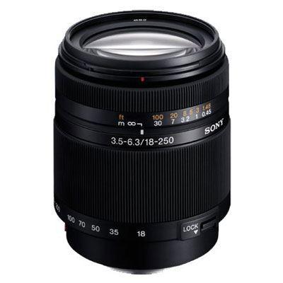 Sony A Mount 18-250mm f3.5-6.3 DT AF Lens
