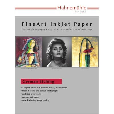 Hahnemuhle German Etching 310gsm 44inch Roll 12mtr Rolls